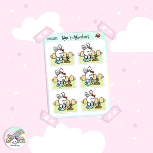 Stickers Sheet- Minu' - Seedlings