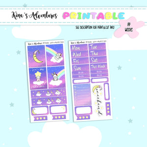 Printable- PP weeks- You're a sky full of stars