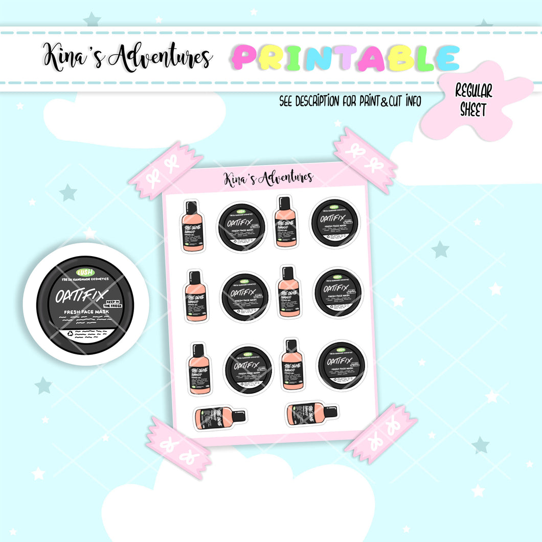 Printables- Regular- Lush