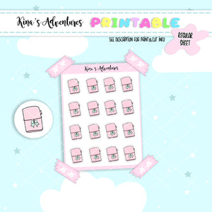 Printables- Regular- Planner