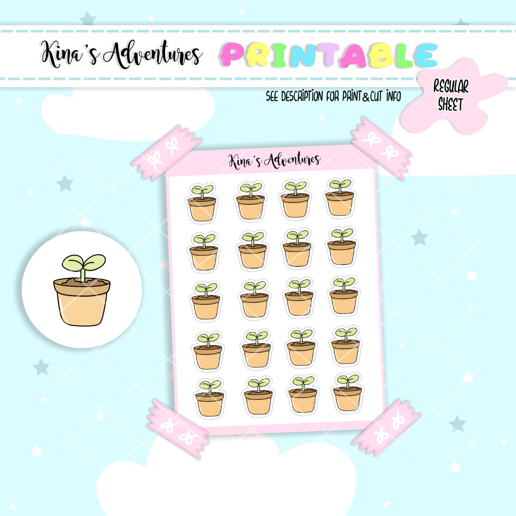 Printables- Regular- Plants