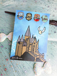 Harry Potter - Journaling card