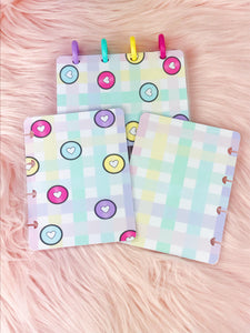 Micro Happy planner Covers (front&back)- Happy Discs