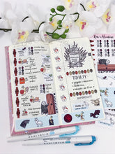 Load image into Gallery viewer, Hobonichi Weeks- Game of Thrones