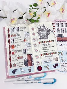 Hobonichi Weeks- Game of Thrones