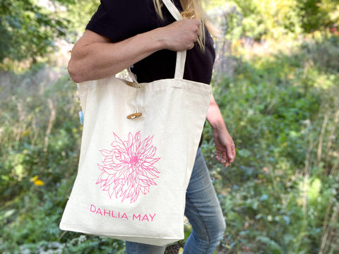 Dahlia May Canvas Bags