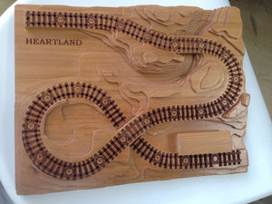 Board Text Engraving (Railroad or other)
