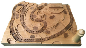 Add a Wooden Lighthouse to A Golf Cribbage Board