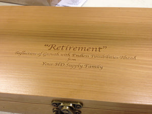 Box Text Engraving