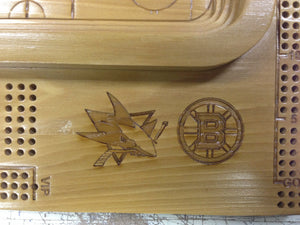 Custom Logo Engraving on Board