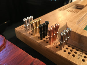 Deluxe Metal Cribbage Pegs