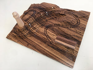 ZebraWood 'Down By The Seashore' Lighthouse Cribscape