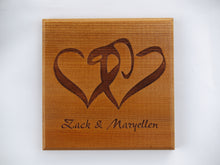 Load image into Gallery viewer, Custom Logo Engraving on Coasters (Set of 4)