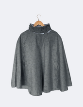 Load image into Gallery viewer, Rain Cape // Herringbone