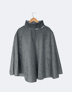 Rain Cape // Herringbone