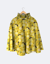 Load image into Gallery viewer, Rain Cape // Lemons