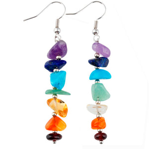 Chakra Chips Earrings