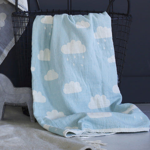 A Clouds Baby Blanket