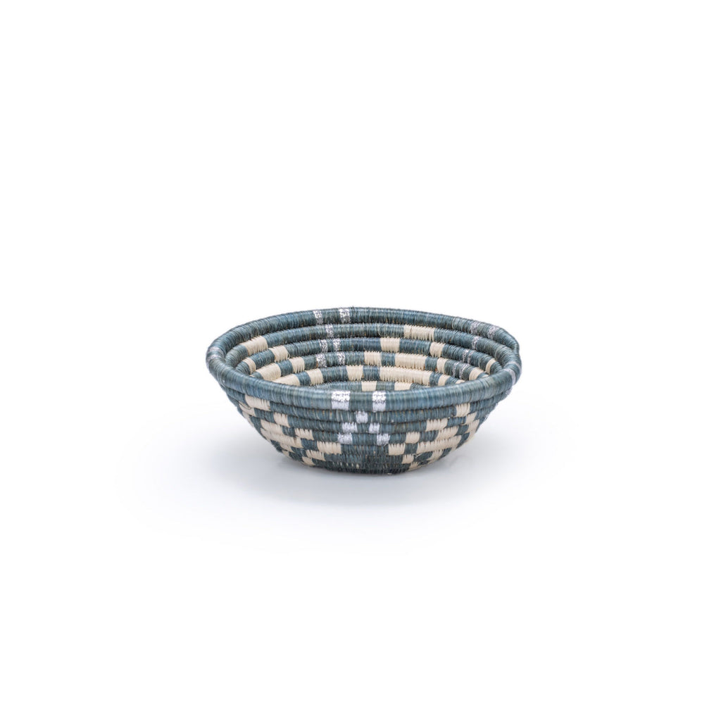 Metallic Mirage Gray Bowl