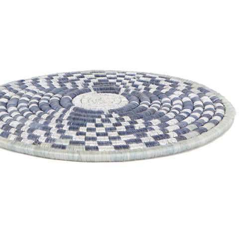 Metallic Mirage Gray Trivet