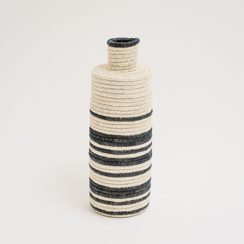 A Striped Tall Vase