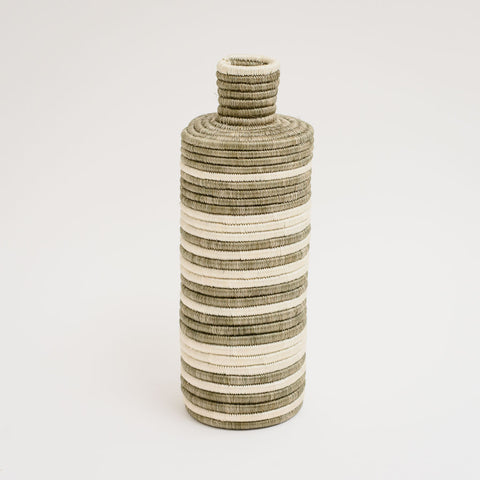 Striped Tall Vase
