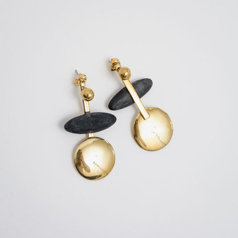 A Haya Jacket Earrings