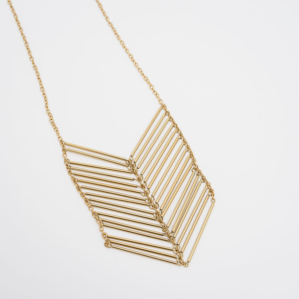 A Chevron Necklace