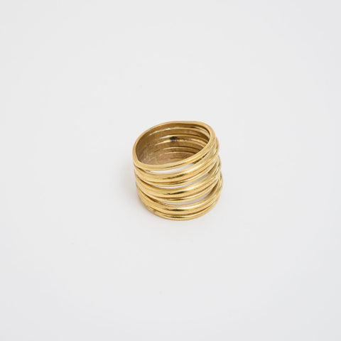 A Layered Strand Ring