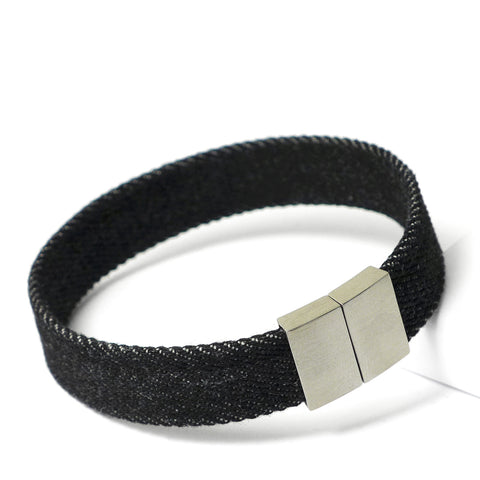Starbeit Armband Black Denim Single Raw Hauptbild