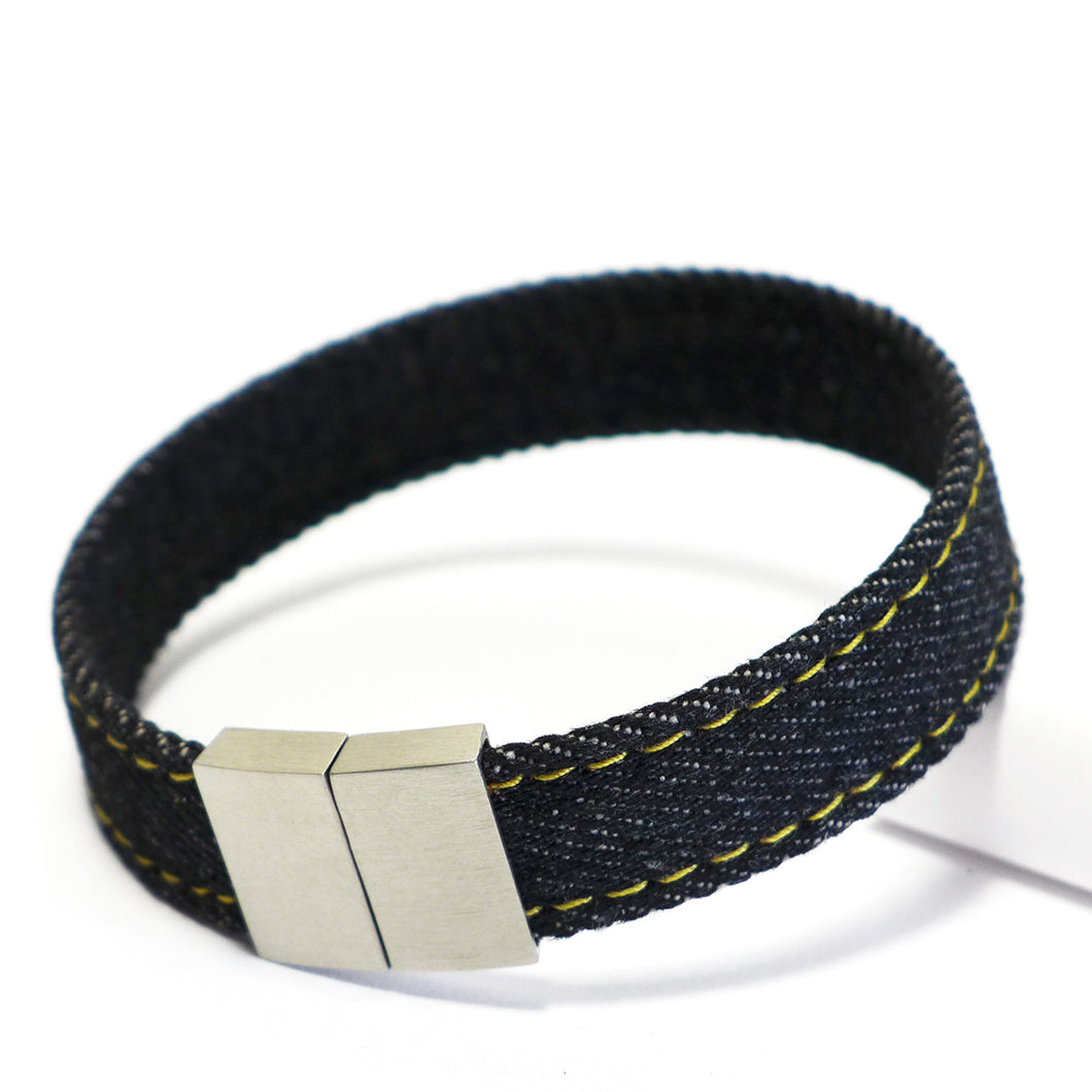 Starbeit Armband Black Denim Single Raw Plus Hauptbild
