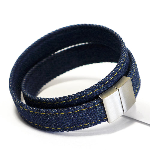 Starbeit Armband Blue Denim Double Raw Plus Hauptbild
