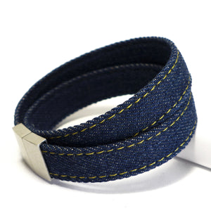 Starbeit Armband Blue Denim Double Raw Plus Bild 2