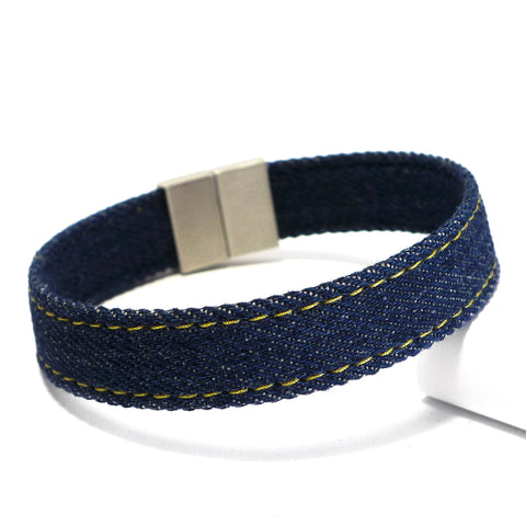 Starbeit Armband Blue Denim Single Raw Plus Bild 2