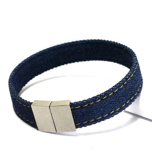 Starbeit Armband Blue Denim Single Raw Plus Hauptbild