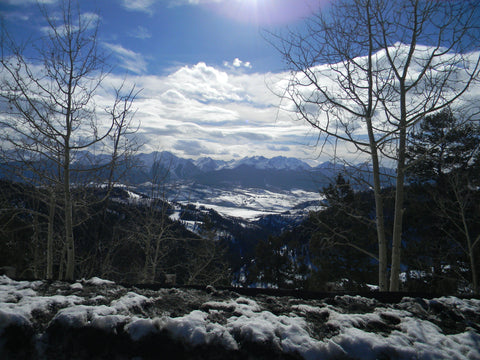 Ute Pass Winter View of the Gore Range and Silverthorne Colorado Jpeg Photo Download 131  Crystal Clear