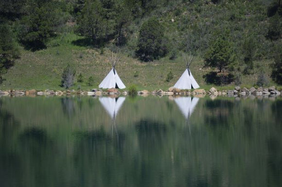 Jpeg Photo Download 188 Mescalero  - Two Teepees