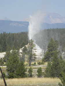 Jpeg Photo Download 212 Great Fountain Geyser - Yellowstone National Park Wyoming.