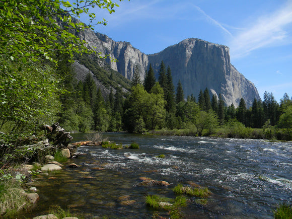 Jpeg Photo Download 232 Flowing - Merced El Capitan Yosemite National Park California