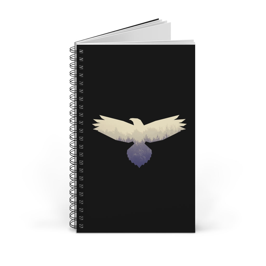 Hawk Spirit Animal Spiral Notebook Journal