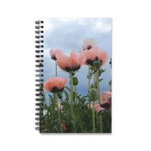 Pink Poppy Spiral Notebook Journal