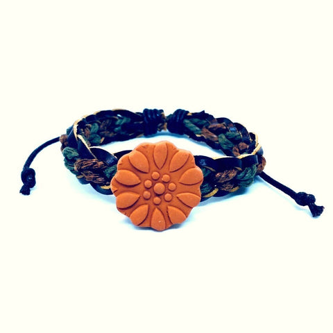 Aromatherapy Diffuser Bracelet Button Snap Charm