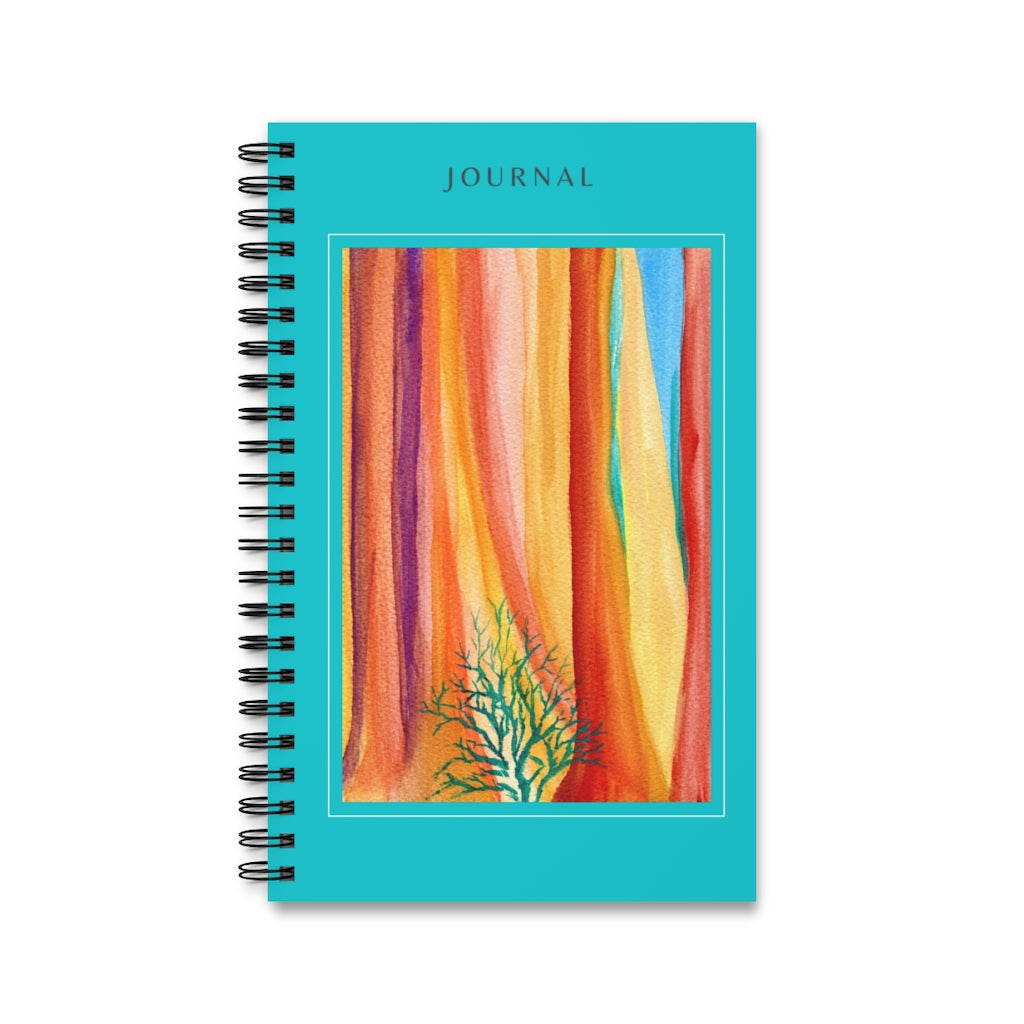 Deep Woods Spiral Notebook Journal