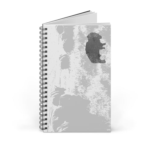 Buffalo Spirit Spiral Notebook Journal