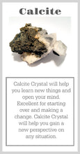 Calcite Crystal Meaning Card