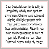 Large Clear Quartz Generator