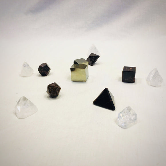 Platonic Solid Crystal Grid Kit