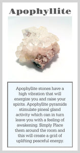 Apophyllite Crystal Meaning Card