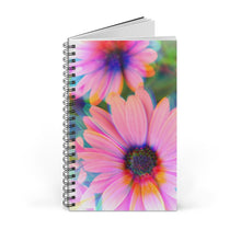 Pink Daisies Spiral Notebook Journal