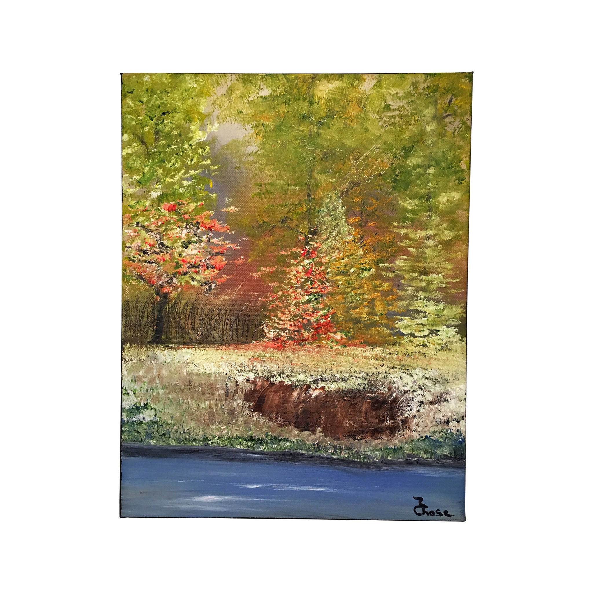 Original Paintings Oil On Canvas Landscape, Small Oil On Canvas ...